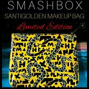 Smashbox Santigolden Makeup Bag
